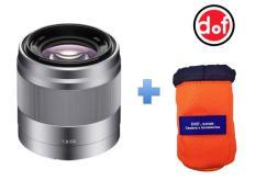 Sony SEL 50mm f/1.8 Bạc tặng kèm túi đựng lens DOFzone