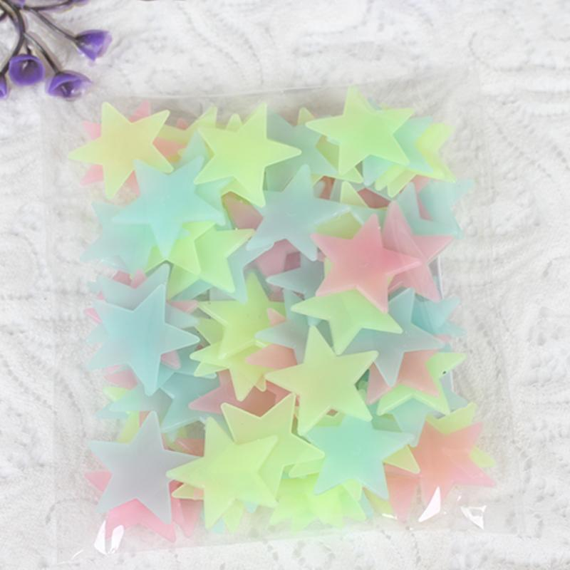 Túi 100 sao phát quang nhiều màu + Tặng kèm thẻ tích điểm