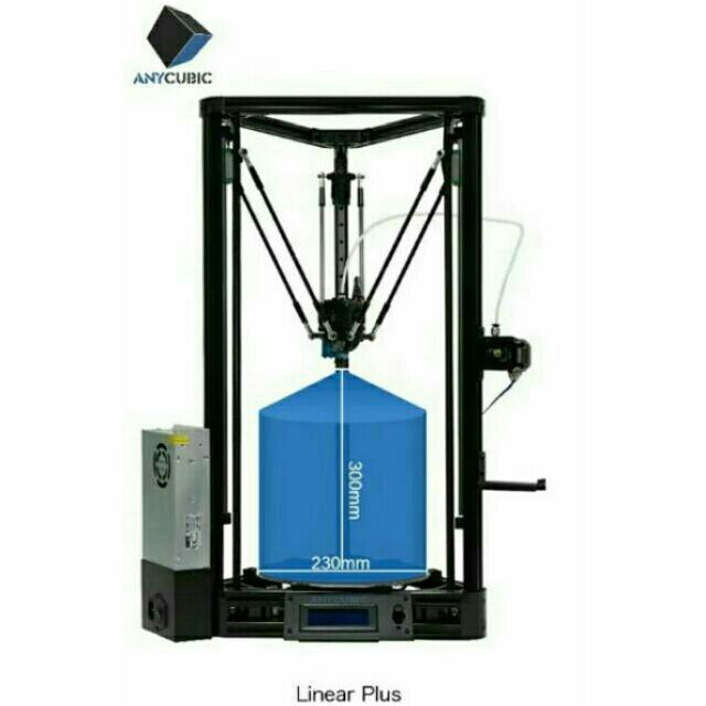 So sánh giá Máy In 3D ANYCUBIC KOSSEL PLUS Ø230 × 300mm Chiều Cao ( có video hướng dẫn lắp đặt chi tiết ) Tại vanvatketnoi