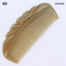 Lược sừng xuất Nhật – COH183 (Size: S – 11cm) Vương miện nhỏ – Horn Comb of HAHANCO – Có lợi cho sức khỏe