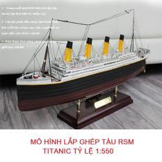 Lắp Ghép Đồ Chơi Lego|Đồ Chơi Giúp Bé Phát Triển Trí Thông Minh| Bộ Mô Hình Lắp Ghép Tàu RSM Titanic, Bộ Sản Phẩm Hơn 100 Chi Tiết Giúp Bé Sáng Tạo, Khéo Tay Và Kích Thích Khả Năng Sáng Tạo