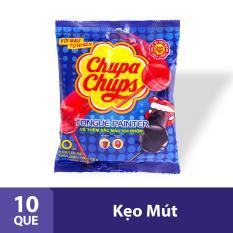 Kẹo mút Chupa Chups Tô Màu Hương Trái Cây Hỗn Hợp Tô Màu (10 Viên)