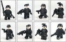 lính swat Lepin kèm phụ kiện ( được xếp ngẫu nhiên từ 8 loại