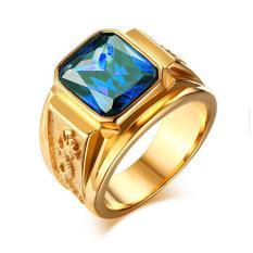 Nhẫn Nam Titan khắc Rồng sang trọng vĩnh viễn không đen