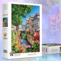 Bộ tranh xếp hình jigsaw puzzle 925 mảnh – Colmar, Pháp