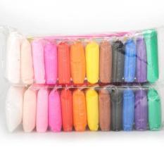 Bịch 24 gói đất sét Nhật làm Slime siêu nhẹ – Soft Clay – Nguyên Liệu Làm Slime