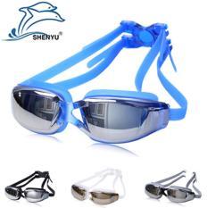 Kính bơi thời trang SHENYU chống thấm nước, chống sương mù và tia UV cho nam giới và nữ giới