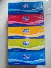 Combo Khăn giấy Pulppy hộp 180 tờ 2 lớp giá rẻ