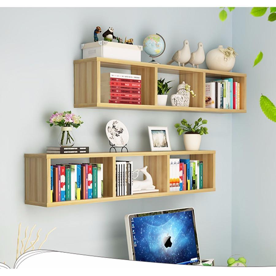 Kệ treo tường trang trí Luna box (bộ 2 kệ)