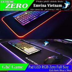 Bàn di chuột LED RGB Zero – Mousepad Led RGB – Lót chuột Led RGB full size 80cm x 30cm