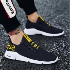 Giày thể thao nam vải chữ hót trend 2019 (005)
