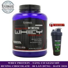 Sữa tăng cơ Prostar 100% Whey Protein của Ultimate Nutrition hương Chocolate hộp 80 lần dùng – Phân phối chính thức