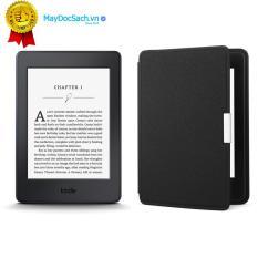 Máy đọc sách Kindle Paperwhite (7th) và Bao da Inox (Màu Đen)