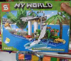 Lego Con thuyền sinh tồn