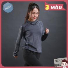 Áo khoác dài tay thể thao nữ N6803 LieXing – Cửa hàng phân phối KIT Sport (Women Coats, đồ tập quần áo gym, thể dục,thể hình, yoga)