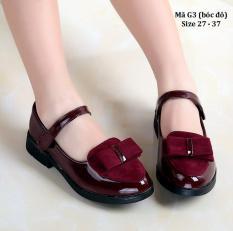 Giày bé gái 3 – 12 tuổi phong cách Vintage G3
