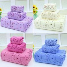 Cách mua Bộ 3 khăn tắm – khăn mặt – khăn lau (Violet)