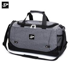 Túi du lịch CỠ ĐẠI vải bố xước cao cấp 51x27x23cm Fortune Mouse T204 (Xám)