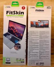 Phủ bàn phím MacBook Pro Touch Bar 13/15 inch hiệu JCPAL FitSkin