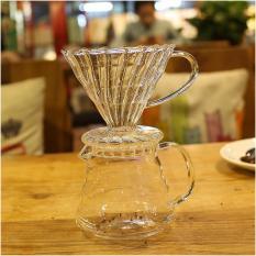 Bình pha cafe Drip Coffee 350ml thủy tinh