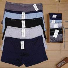 Hộp 5 quần đùi lót nam xuất Nhật – Boxer siêu thoáng mát.