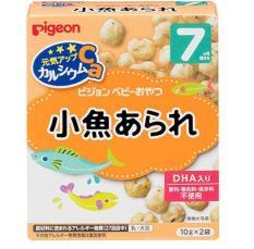 Bánh Ăn Dặm Pigeon Vị Cá Cơm Cho Bé 7M+(Fish) cam
