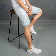 Quần Short jean nam Muidoi Q32 (Xanh bạc)