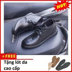 Combo Giày Chukka boot cổ lửng (đen nhám, đen buck, be) M443(L) – AROTI VIET NAM – LZD II