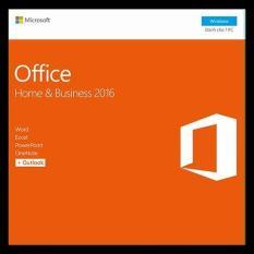 Phần mềm Microsoft® Office Home and Business 2016 – Pupam phân phối chính hãng