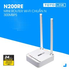 Mini Router Wi-Fi chuẩn N 300Mpbs – N200RE-V3 – TOTOLINK