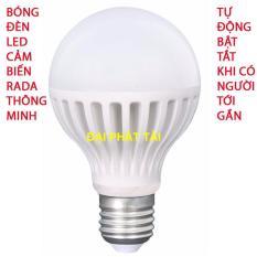 Bóng đèn Led cảm ứng thông minh 12W tự động tắt mở khi có người đến gần