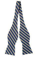 Nơ đeo cổ lụa Dirk – Dirk self-tie bow tie