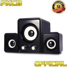 Loa vi tính bass điện thoại, laptop, tivi loa 3 loa PKCB-2N PF6