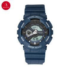 Đồng hồ Unisex SANDA 299 COWBOY cao cấp 41mm & 37mm (Xanh navy) + Tặng hộp đựng đồng hồ thời trang