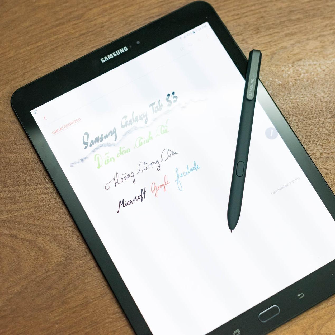 Bút S Pen dành cho Galaxy Tab S3 ( màu đen xám ) dùng cho tất cả các dòng note và tab có bút
