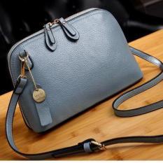 Túi đeo chéo da thật Ngoc Diep Shop mã 1088 màu xanh