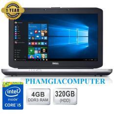 Laptop DELL Latitude E5430 Core i5 3210 Ram3 4G 320G 14in-Đen-Hàng Nhập khẩu-Tặng Balo chuột wireless.