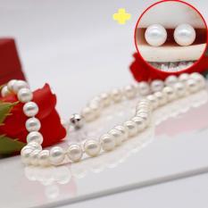 [ QUÀ TẶNG]Chuỗi Ngọc Trai – Vòng Cổ Ngọc Trai – Dây Chuyền Ngọc Trai DB-1336 Bảo Ngọc Jewelry