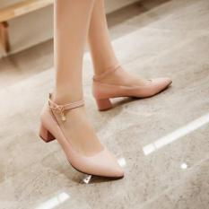 Giày búp bê quai hậu gót vuông 5p MYS