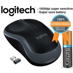 Chuột vi tính không dây cao cấp Logitech B175 Wireless 10m (Đen, xám)