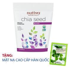 Hạt Chia Mỹ Nuvita Chia Seed Black 907g + tặng mặt nạ cao cấp Hàn Quốc [SuPhat Shop]