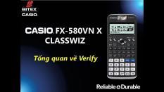 MÁY TÍNH CASIO FX – 580VN X PHIÊN BẢN 2018 ( ĐEN )