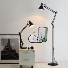 Đèn đứng, đèn sàn trang trí nội thất cổ điển – Tặng kèm bóng LED chống lóa