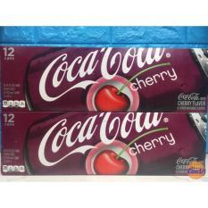 Nước ngọt Coca Cola Cherry thùng 12 lon