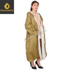 Áo mưa thời trang – Áo mưa công sở (Vàng)