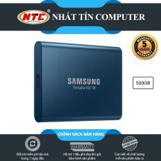 Ổ cứng di động SSD External Samsung T5 500GB – USB 3.1 Gen 2 (Xanh)