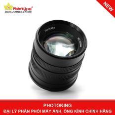 Ống kính 7artisans 55mm F/1.4 MF Lens (Fuji X mount) – Tặng kèm hood kim loại dáng Leica