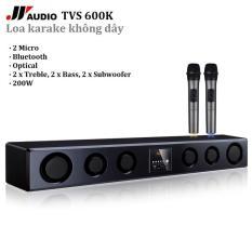Dàn Karaoke cao cấp JY TVS-600K Kèm 2 Micro không dây – Hát Karaoke cực đỉnh