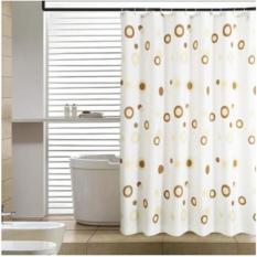 Rèm Cửa Nhà Tắm Vòng tròn 180x200cm