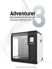 Máy in 3D không dây Adventurer 3 – Flashforge